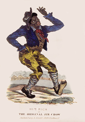 Page O: Vintage Dancer History Index List O (Pictured: Thomas Dartmouth Rice, the Original Jim Crow) Listings