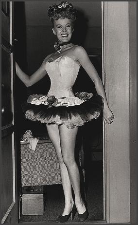 Page J: Vintage Dancer History Index List J (Pictured: June Hovic) Listings