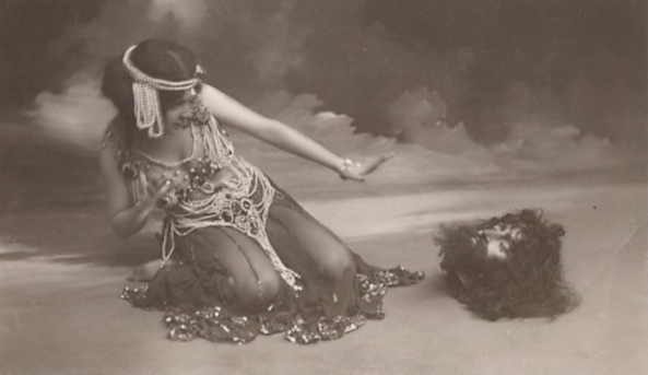 Maude Allan in Salome.