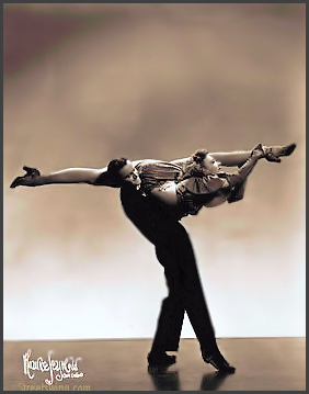 Page R: Vintage Dancer History Index List R (Pictured: Ralph and Lorraine) Listings