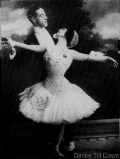 Adelaide and Hughes dancing in photo