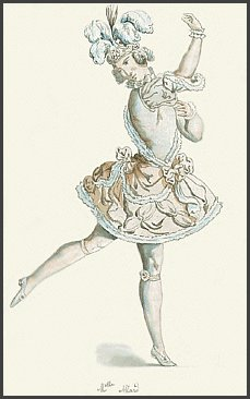 Page C: Vintage Ballet Dancer History Index List b2 (Pictured: Marie Allard) Listings