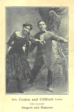 Photo of Billy Coden and Clifford Cassie