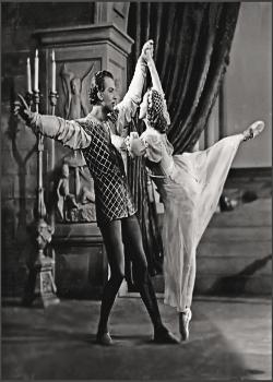 Page U: Vintage Dancer History Index List U (Pictured: Galina Ulanova as Juliet) Listings