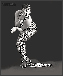 Page T: Vintage Dancer History Index List T (Pictured: Valencia Tortola) Listings