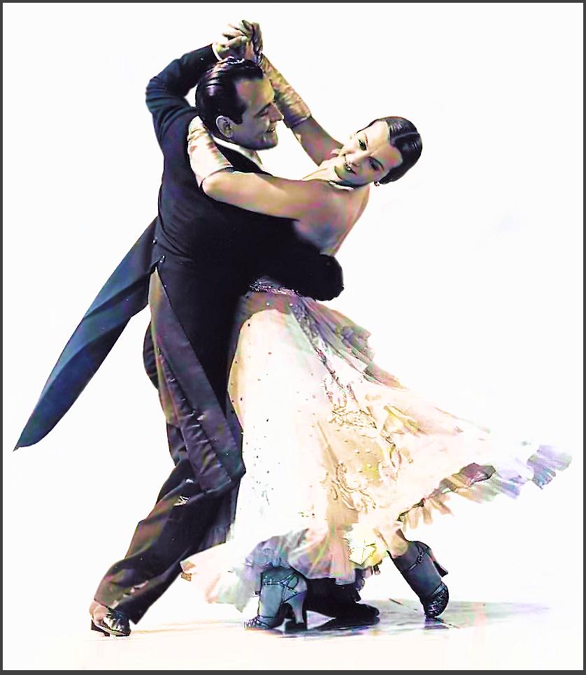 Page V: Vintage Dancer History Index List V (Pictured: Veloz and Yolanda) Listings