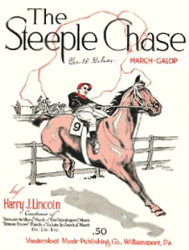 The Steeple Chase Sheet Music Cover