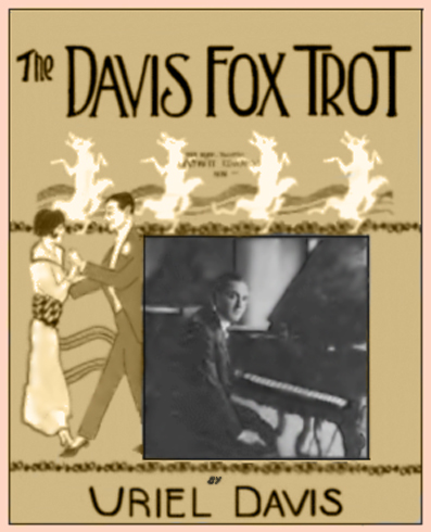 Uriel Davis Fox Trot Sheet Music Cover