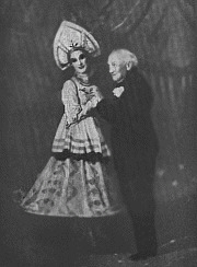 Black and White Photo of Cechettie and Pavlova