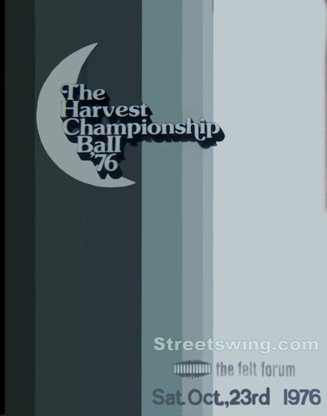 Harvest Moon Ball 1976 program Cover