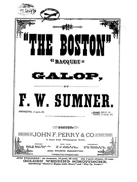 The Boston Racquet Galop