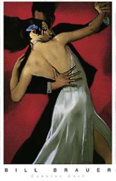 Flamenco Poster, example of Bill Brauer's Work