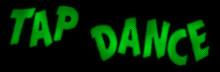 Streetswings Tap Dance History Logo Text