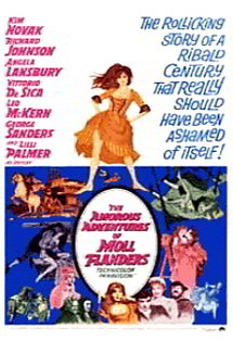The Amorous Adventures of Moll Flanders Poster