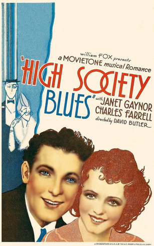 High Society Blues Movie Poster