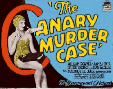 The Canary Murder Case featuring Louise Brooks