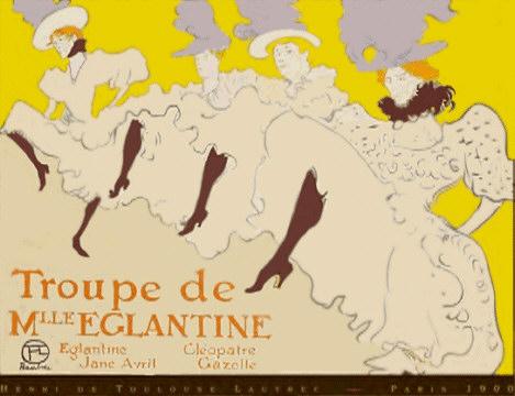 Troupe de Eglantine featuring Jane Avril