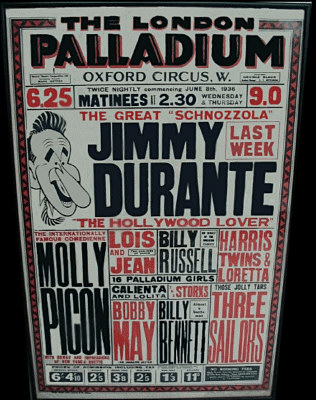 The London Palladium (1936) Poster