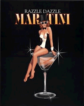 Razzle Dazzle Martini Poster by Ralph Burch