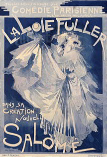 Featured: Salome, featuring Loie Fuller Vintage Dance Poster