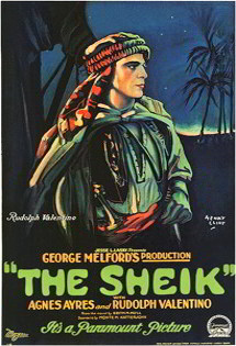 Featured: The Sheik Vintage Dance Poster