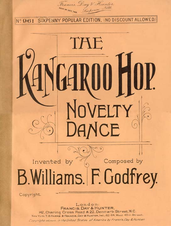 The Kangaroo Hop by Billy Williams 1914