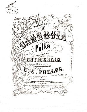 1880 - Bamboula Polka