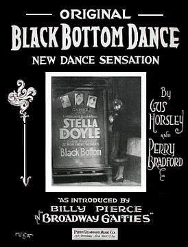 Original Black Bottom Dance Sheet Music Cover