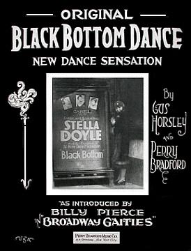 Original Black Bottom Dance Sheet Music Cover