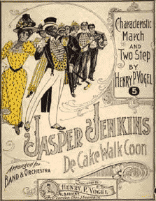 Jasper Jenkin's The Cakewalk Coon