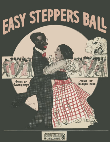 Easy Steppers Ball Sheet Music Cover