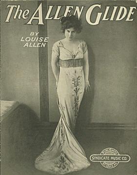 Allen Glide by Louise Allen, circa 1915