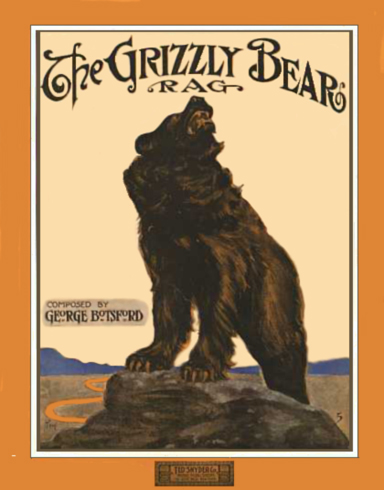 The Grizzly Bear Rag Sheet Music Cover