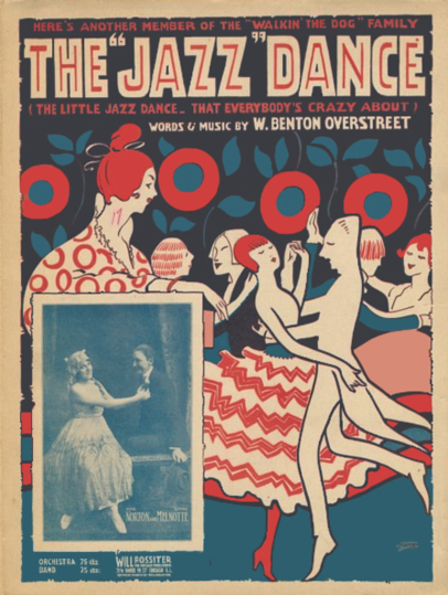 The Jazz Dance Sheet Music Cover (1917)