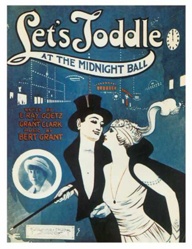 Let's Toddle at the Midnight Ball Sheet Music Cover