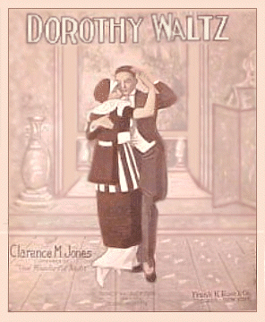 Dorthy Waltz Sheet Music Cover 1914