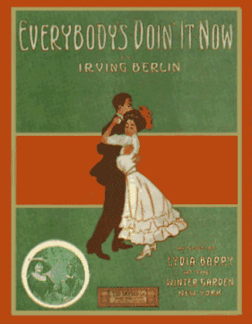 Irving Berlins - Everybodys doin it sheet music cover