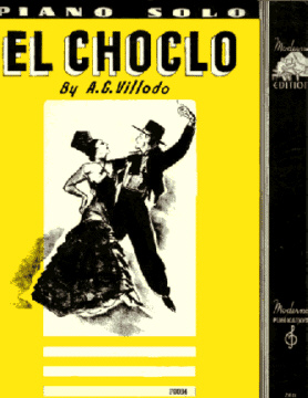 El Choclo Tango Sheet Music Cover