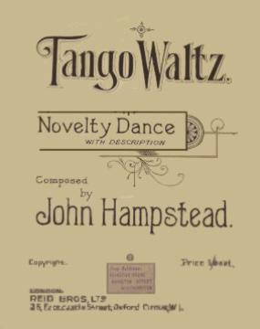 Tango Waltz by John Hampstead