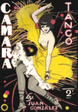 Camara Tango Sheet Music Cover