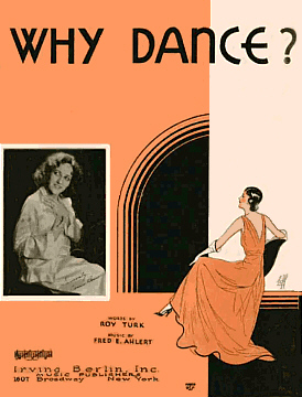 Why Dance Sheet Music Cover