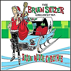 Christmas CD by Brian Setzer.