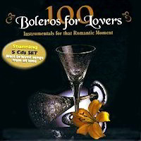100 Boleros for Lovers CD